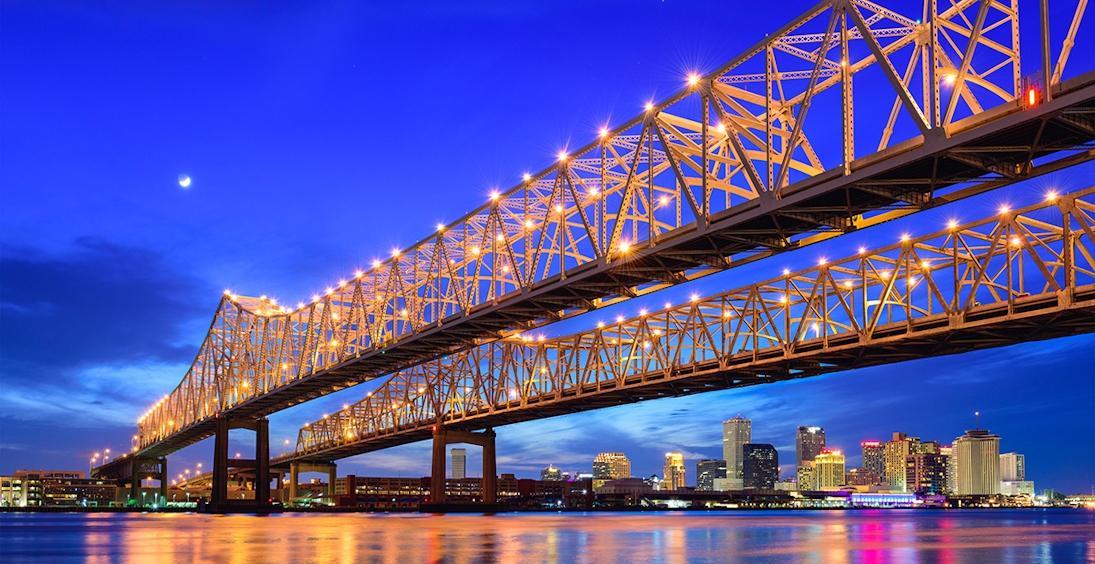 Cores de Nova Orleans