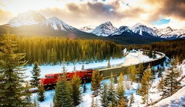 Canadá em Trem