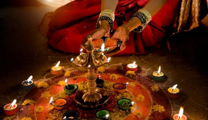 Índia com Festival da Luz - Diwali