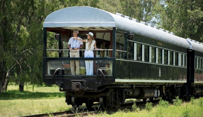 África do Sul com Rovos Rail
