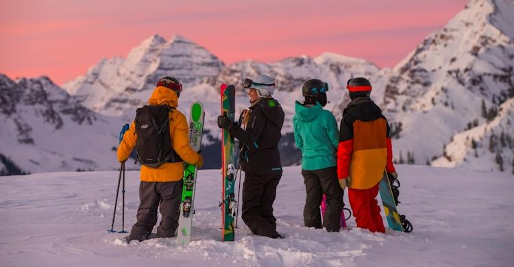 Ski em Snowmass
