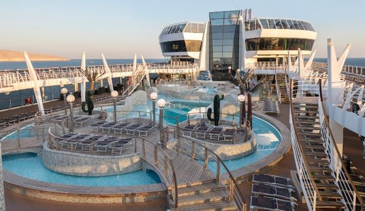 Cruzeiro Nordeste MSC Seaside - dez 2021 a mar 2022